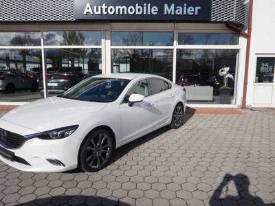gebraucht Mazda 6 2.2l SPORTS-LINE *Automatik*Leder*NAVI*BOSE*AHK*