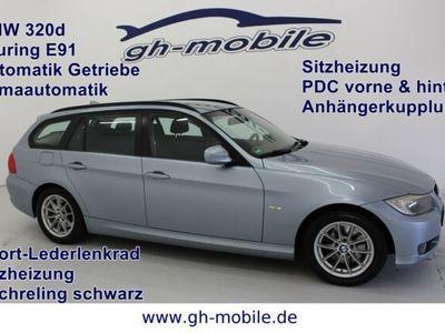 gebraucht BMW 320 d Touring Aut.*Klimaaut*SHZ*PDC*AHK*Reling*