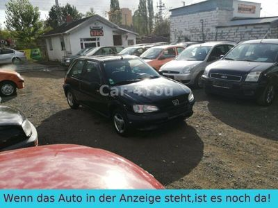 gebraucht Peugeot 106 1,4 SERVO*SCHIEBEDACH*GJR*TÜV 10/2020