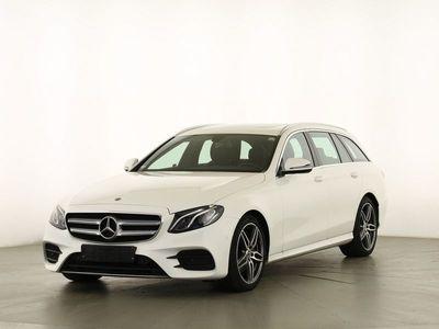 gebraucht Mercedes E220 T AMG AHK SHD LED Park P DAB Smartphon