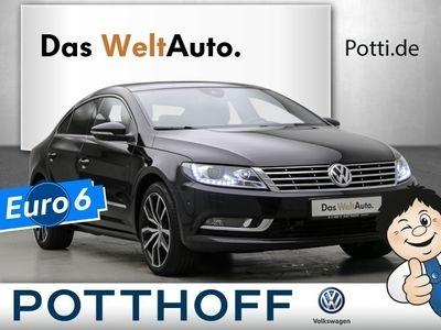 gebraucht VW CC DSG 2.0 TDI BMT AHK Pano Navi 18 Zoll 5-Sitze