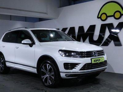 gebraucht VW Touareg V8 TDI 4Motion +Stdhzg. R-Line-Paket Exterieur/Interieur + Individual / Exclusive +Panorama +360° +Perlmutt-Effekt