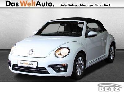 gebraucht VW Beetle Cabriolet 1.4 TSI BMT DSG Design / Navi /