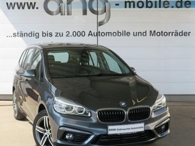 gebraucht BMW 220 Gran Tourer i Sport Line Aut. LED Navi Klimaaut. 17ŽLM 7-Sitzer