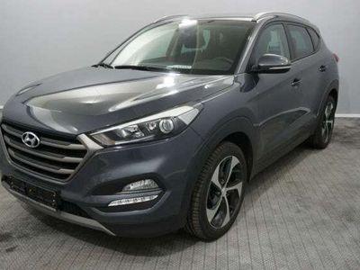 gebraucht Hyundai Tucson Advan. 4WD AUT.*LED*19'ZOLL*NAVI*TOTW*PDC