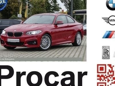 gebraucht BMW 218 d Coupe M Sport Xenon Navi GSD Service Inkl.