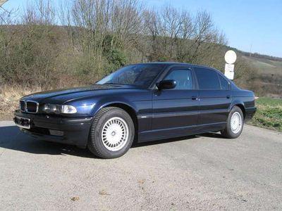 gebraucht BMW 750L 750 i Individual Highline-nachtblau