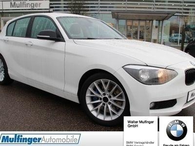 """second-hand BMW 125 d 5-Türer M Lenkrad Sitzh.Klimaauto. 17"""""""