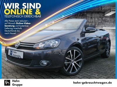 gebraucht VW Golf Cabriolet VI Lounge 1.4TSI Navi Einpark Climatr
