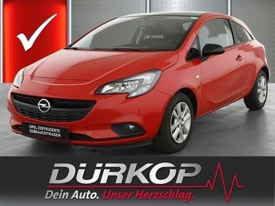 gebraucht Opel Corsa E 1.4 Color Edition SHZ/PDC v+h/BT/16''Alu