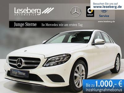 gebraucht Mercedes C180 Avantgarde/9G/LED/Navi/Kamera/PTS/SHZ/DAB