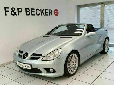 gebraucht Mercedes SLK350 AMG Paket 7G-Tr. Leder*Navi*BiXenon*H/K*AIRSCARF