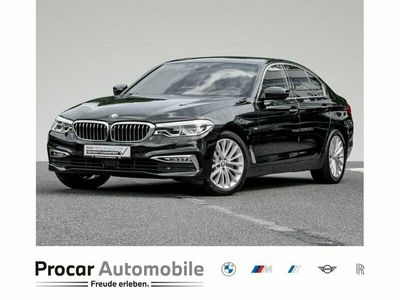 gebraucht BMW 520 d A Luxury Line HiFi DAB LED WLAN RFK Shz