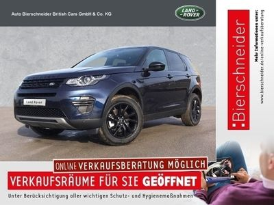 gebraucht Land Rover Discovery Sport TD4 SE Black Edition PANORAMA DAB XENON KAMERA NAVI