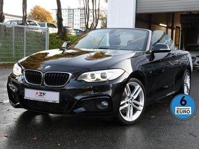 gebraucht BMW 220 220 d Cabrio M Sport Steptronic+Navi+Leder+Xenon