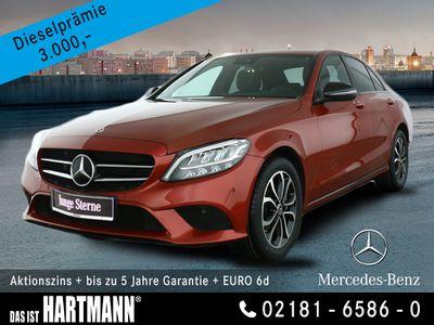 gebraucht Mercedes C300 Avantgarde+Navi+Rückfahrkamera+Night-Paket