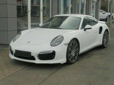 gebraucht Porsche 991 Turbo Coupé/Sport-Chrono/SSD/Bi-Xenon/PDC