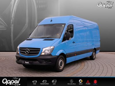 gebraucht Mercedes Sprinter 314 CDI HKA lg Maxi +Klima+Beif.-2 S.+ BC