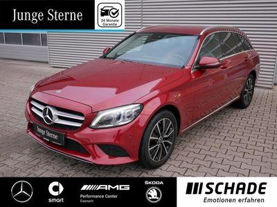 gebraucht Mercedes C200 T 4M Avantgarde Assist.-P.*AHK*Park-K.LED* Autom.