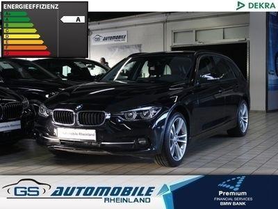 gebraucht BMW 320 d xDrive T. Aut.SportLine Navi LED EU6dT 18''