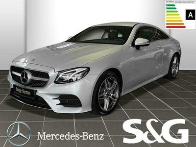 gebraucht Mercedes E220 Coupé AMG-LINE Standhzg/Distronic/360°/