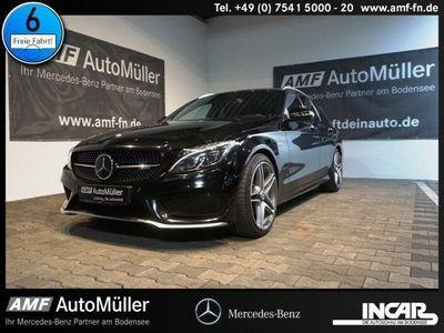 gebraucht Mercedes C450 AMG 4M T-Modell AUTOM.+ILS LED+DISTRO+NAVI AMG Lin