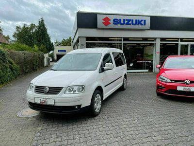 gebraucht VW Caddy Maxi Life Lang 7Sitzer Automatik Klimaauto