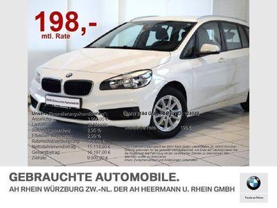 gebraucht BMW 218 Gran Tourer d Advantage Navi/Parkass./AHK/uvm