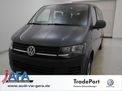 gebraucht VW Transporter Transp.Kombi 2,0 TDI lang DSG Klima,Navi,Sitzhzg,AHK,PDC