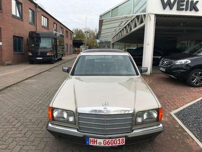 gebraucht Mercedes 380 SE/Aus einer Familie/Leder/Klima/Automatik