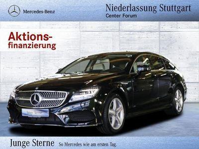 gebraucht Mercedes CLS250 Shooting Brake d AMG LED Navi Spur-Paket