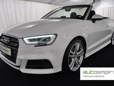 gebraucht Audi A3 Cabriolet 1.5-TFSI 35 Sport S-Line-Plus LED/NAVI