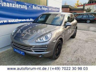 gebraucht Porsche Cayenne Diesel Platinum Edition Navi/Leder als SUV/Geländewagen/Pickup in Unterensingen / bei Stuttgart