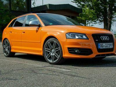 gebraucht Audi S3 Sportsback Glutorange TÜV neu Magnetic Ride Panoramadach