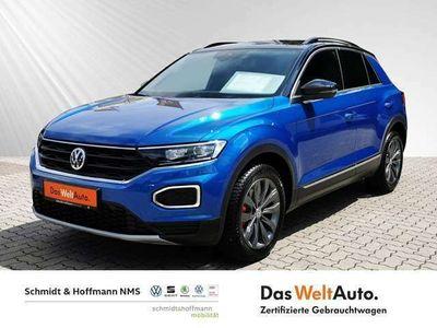 gebraucht VW T-Roc Style 1.5 TSI Lane Assist Shz vorne Klima
