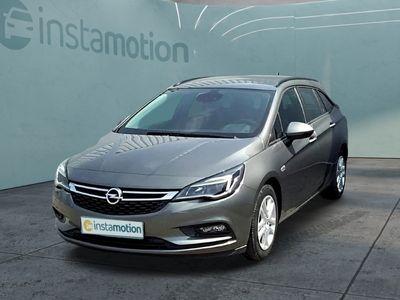 gebraucht Opel Astra AstraST Business 1.4 Turbo Navi AHK Klima Tempomat Kollisionswarner AGR-Sitze PDCvo+hi