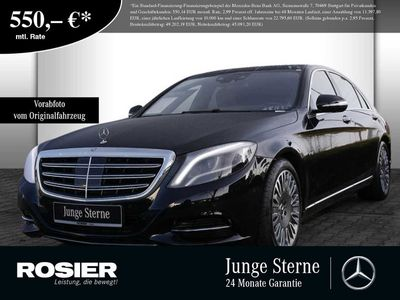 gebraucht Mercedes S600 Limousine lang Standhz. LED Pano HUD Nacht