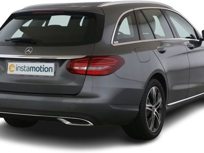 gebraucht Mercedes C220 C 220d T Avantgarde Spur-P./LED/AHK/Kamera/Navi