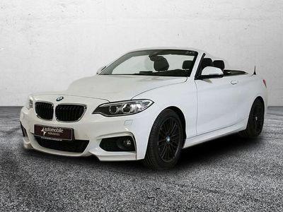 gebraucht BMW 218 d Cabrio M Sport Alcantara Xen AHK Hifi