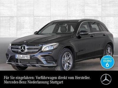 gebraucht Mercedes GLC250 4M AMG Pano Park AHK Navi LED Spiegel