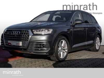gebraucht Audi SQ7 4.0 TDI quattro Matrix LED Leder Navi StandHZG Keyless Massagesitze