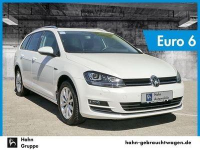 gebraucht VW Golf VII Variant VII 2.0TDI EU6 Lounge DSG Xen Sitzh