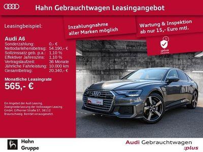 gebraucht Audi A6 Limousine 50 TDI quattro 210 kW (286 PS) 8-stufig tiptronic