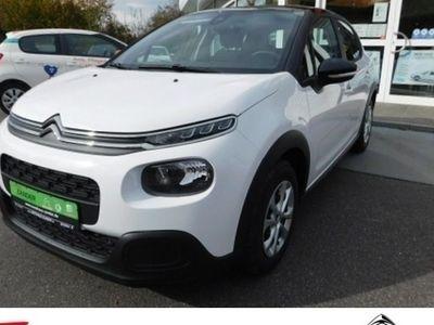 gebraucht Citroën C3 PureTech 82 S&S Feel Klima Einparkhilfe Klima
