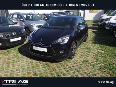 gebraucht Citroën DS3 SportChic 1.6 THP 165 Navi Rückfahrkam. LED-hinten