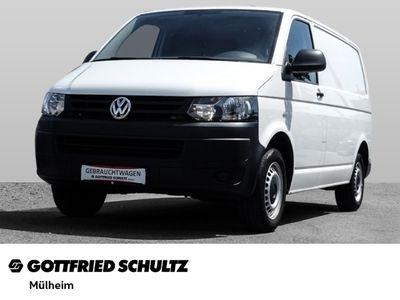 gebraucht VW T5 2.0 TDI Kasten Radio CD Vorb.AHK Beifahrer Dopp LKW Zulassung