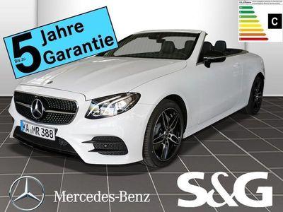gebraucht Mercedes E200 Cabrio 4MATIC AMG-Line NIGHT/Navi/Spur/LED