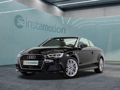 gebraucht Audi A3 Cabriolet A3 2.0 TDI 2x S LINE LED ACC AHK LM18