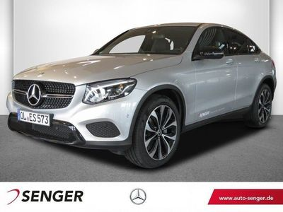 gebraucht Mercedes GLC250 4M Coupé Navi AHK LED Glas-SD Rückfahrk.