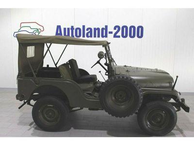 gebraucht Jeep Willys Overland M38 A-1 *Traum Sammlerzustand*
